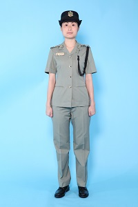 Working Dress (Summer) - Female (trousers)